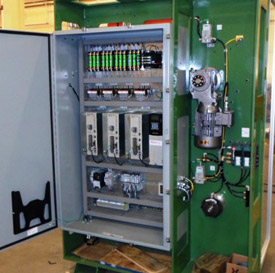 Custom Electrical Panel Machine Control Panel